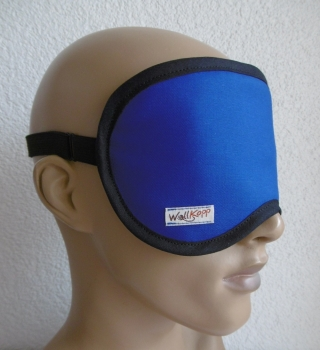 Royal blue sleep goggles-2