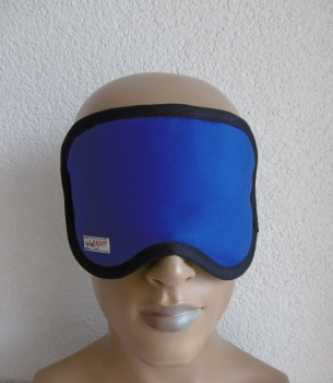 Royal blue sleep goggles