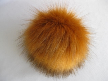 Fakefur pompon change bobble fox with push button