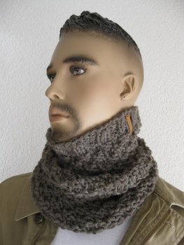 Snood for men uni colors