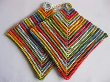 Decorative potholders accessories of cotton